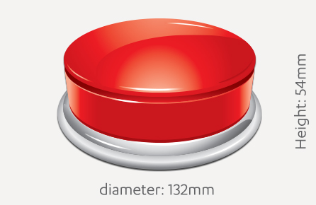 Big Red Button Wireless Button Controller